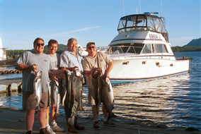 Fishing Charters aboard the Double Jeopardy